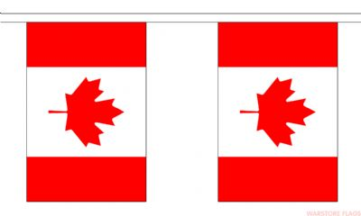 CANADA BUNTING - 3 METRES 10 FLAGS